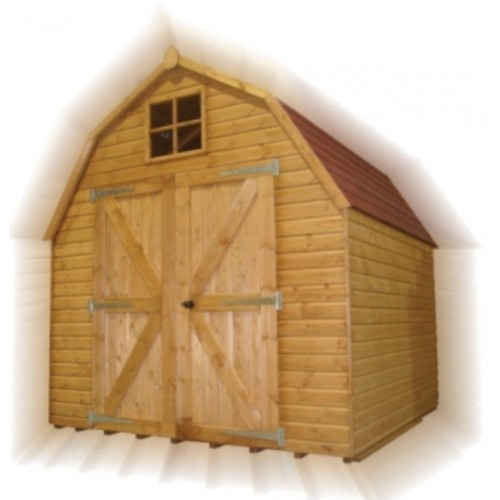 Dutch barn shed 8x8 for Dutch style barn